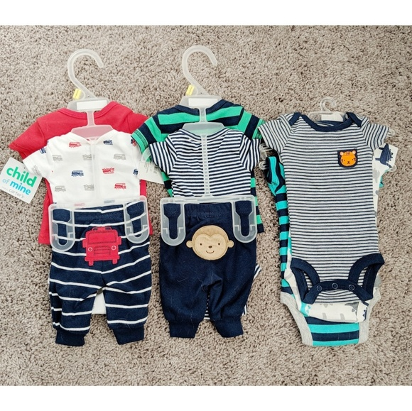 df50b9e9c599 Carter's Matching Sets   Carters Preemie Boys Outfits And Bodysuits ...